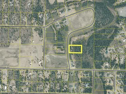 Level 1.53 Acre Lot in Desirable : Soldotna : Kenai Peninsula Borough : Alaska