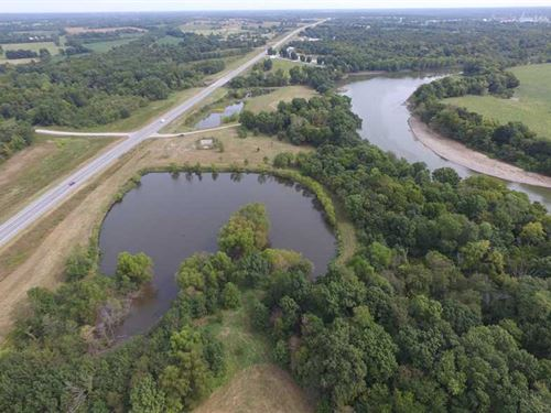 35 Acre Fishing Property on Spring : Baxter Springs : Cherokee County : Kansas