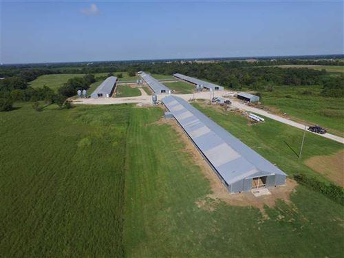 Turkey Farm on 56 Acres For Sale : Webb City : Jasper County : Missouri