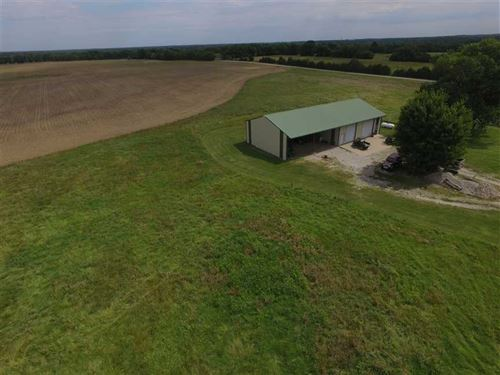 40 Acres With Shop And Utilities : Parsons : Labette County : Kansas