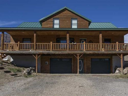 Recreational Land And Log Home For : Cody : Park County : Wyoming