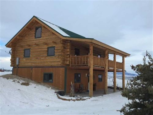Two Bedroom, Two Bath Home on 6.04 : Meeteetse : Park County : Wyoming