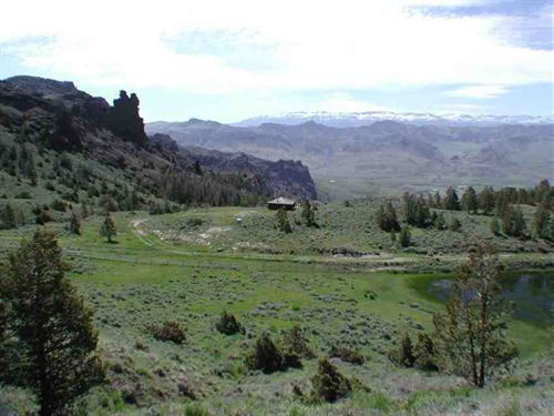 70 Acres on The Northfork With Res : Cody : Park County : Wyoming
