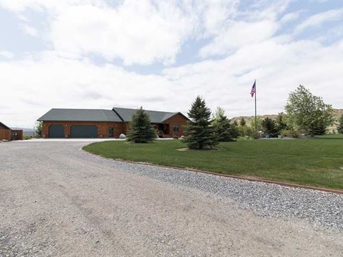 Four Bedroom, Four Bath Home on : Cody : Park County : Wyoming