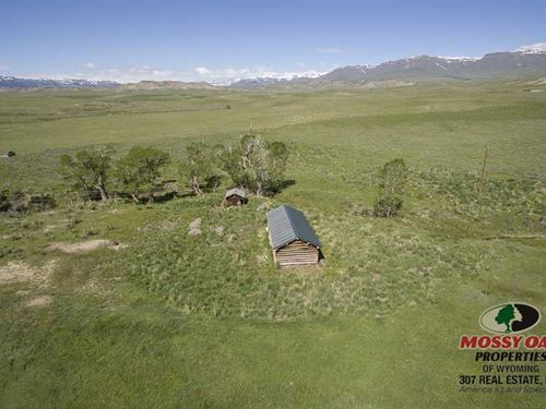 208.55 Acres of Vacant Land in Mee : Meeteetse : Park County : Wyoming
