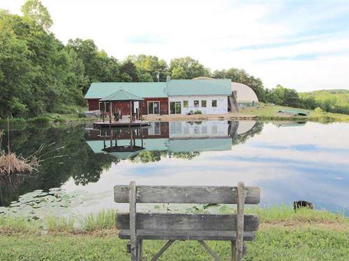 Salem Hollow Rd - 84 Acres - Hocki : New Straitsville : Hocking County : Ohio