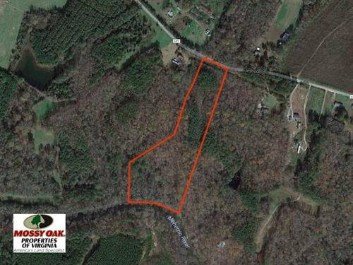 Under Contract, 11 Acres Hunting : Lawrenceville : Brunswick County : Virginia