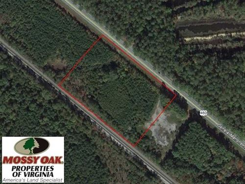 6.4 Acres of Residential or Commer : Waverly : Sussex County : Virginia