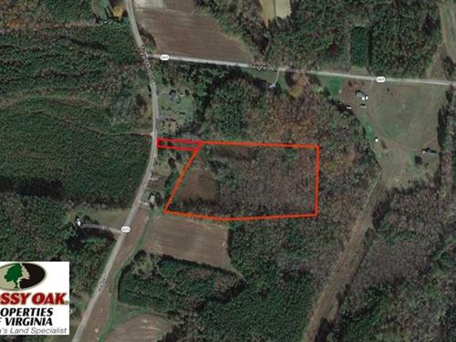 12 Acres of Hunting Land With Home : Emporia : Greensville County : Virginia