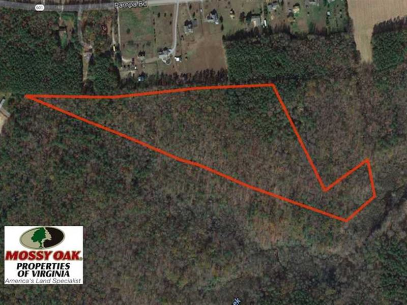 Under Contract, 18 Acres of Hunti : Pampa : Gloucester County : Virginia