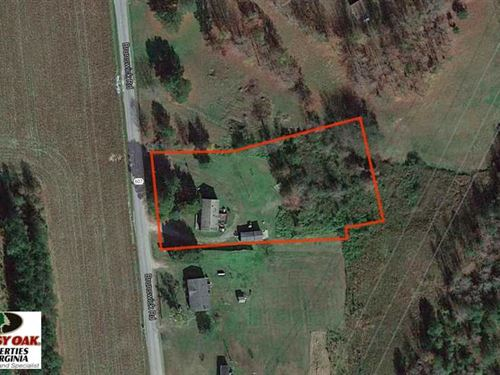 Reduced, 1.2 Acres of Residential : Emporia : Greensville County : Virginia