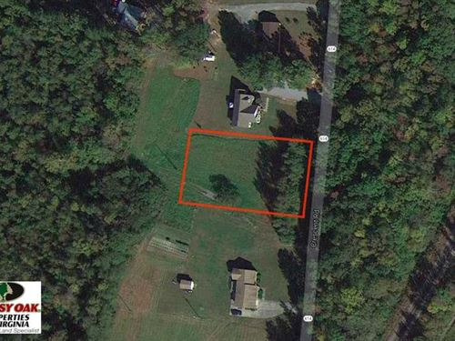 .52 Acre Residential Lot For Sale : Emporia : Greensville County : Virginia