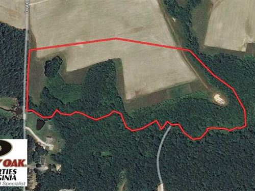 Under Contract, 30 Acres of Hunti : Sedley : Southampton County : Virginia