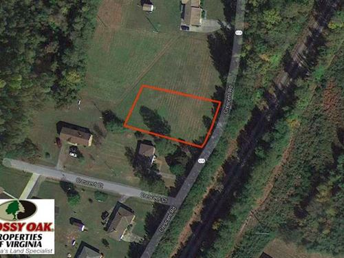 .45 Acre Residential Lot For Sale : Emporia : Greensville County : Virginia
