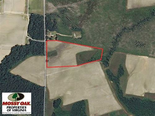 Under Contract, 11 Acres of Farm : Sedley : Southampton County : Virginia