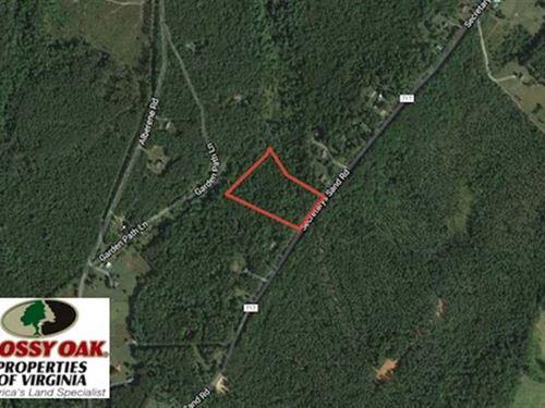 10 Acres Residential Recreational : Esmont : Albemarle County : Virginia
