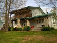 40 Acres With 2-Story Home For : Marshall : Searcy County : Arkansas