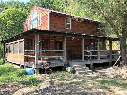 Rustic Cabin On The Gasconade River : Vienna : Maries County : Missouri