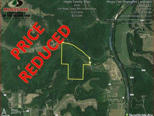 Gasconade River Area Acres : Dixon : Pulaski County : Missouri