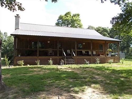 Charming Country Cottage on 40 Acr : Summersville : Texas County : Missouri