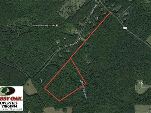 23.9 Acres of Recreational Land Fo : Columbia : Goochland County : Virginia