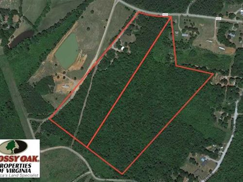 Reduced, 42 Acres of Residential : Drakes Branch : Charlotte County : Virginia