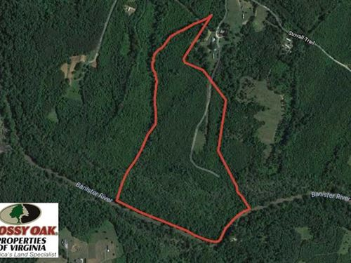 66 Acres of Hunting And Recreation : Halifax : Virginia