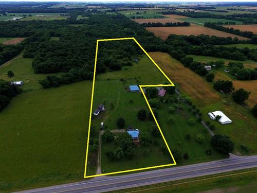12 Acres & Home : Lamar : Barton County : Missouri