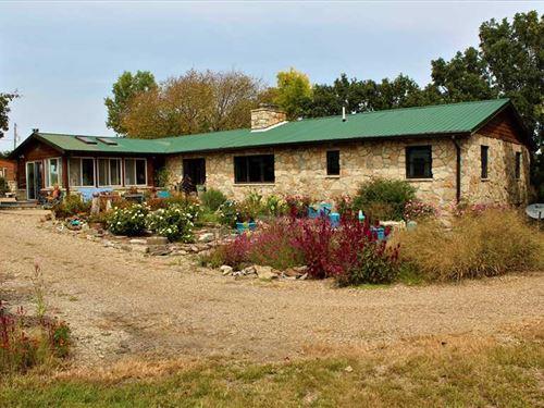 Prairie Rose Farm : Paxico : Wabaunsee County : Kansas