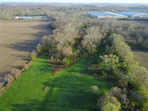 83 Acres Zoned in City Limits in : Lapel : Madison County : Indiana
