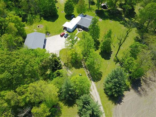 60 Acre Farm, Home, Barns, Tillabl : Gas City : Grant County : Indiana