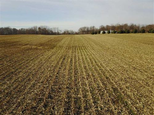 23 Acres of Tillable Land Near Me : Mentone : Kosciusko County : Indiana