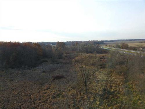 Rose Rd, 20.5 Acre Tract of Huntin : Plymouth : Marshall County : Indiana