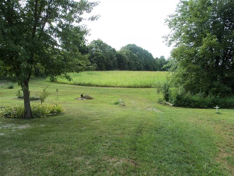 Mixed-Use 19-Acre Mini-Farm In Bea : Reelsville : Putnam County : Indiana