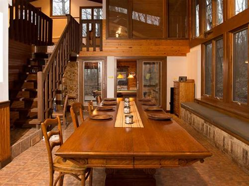 Price Reduction, Custom Home on : Leslie : Franklin County : Missouri