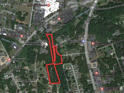 3.7 Ac Commercial / Residential De : Easley : Pickens County : South Carolina