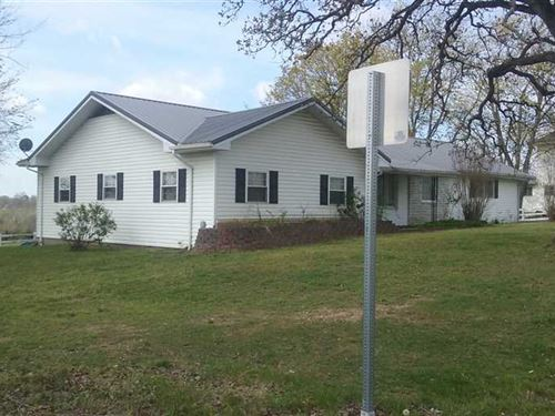 Nice Home And 78 Acres, Open Pas : Humansville : Polk County : Missouri