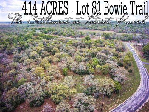 4.14 Acres In Gonzales County : Luling : Gonzales County : Texas