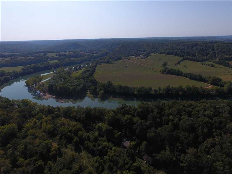 290 Acre Timber Tract in Galena : Galena : Stone County : Missouri