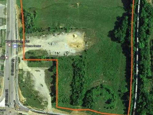 16 Acres S. Gloster Tupelo : Tupelo : Lee County : Mississippi