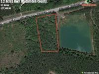 3.2 Acres Camden County Land For : Folkston : Camden County : Georgia