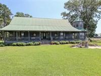 Home And Pasture Land For Sale : Hazlehurst : Jeff Davis County : Georgia