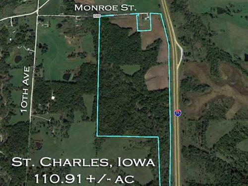 St Charles, Iowa Timbered 110 : Saint Charles : Warren County : Iowa
