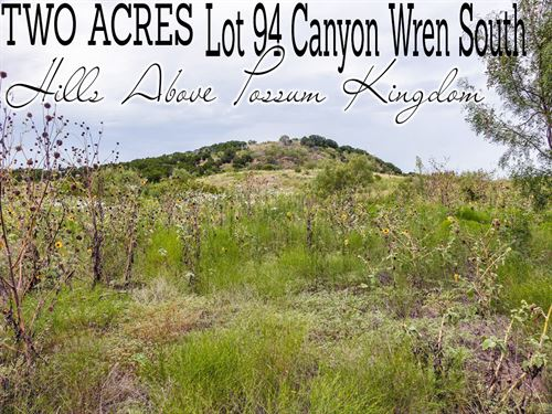 2.02 Acres In Palo Pinto County : Graford : Palo Pinto County : Texas