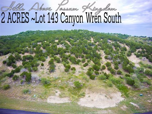 2 Acres In Palo Pinto County : Graford : Palo Pinto County : Texas