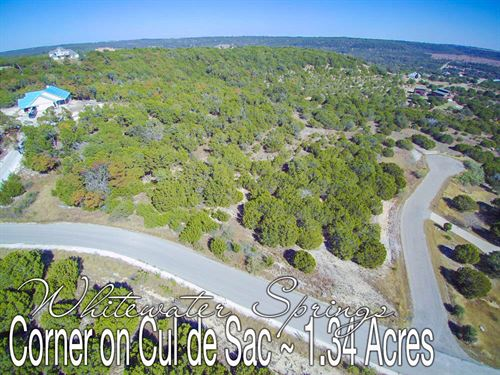 1.34 Acres In Burnet County : Bertram : Burnet County : Texas