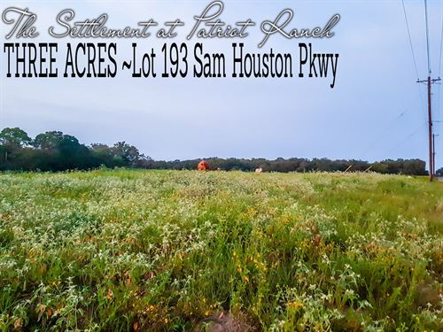 3 Acres In Gonzales County : Luling : Gonzales County : Texas