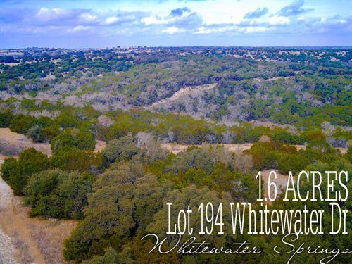 1.6 Acres In Burnet County : Bertram : Burnet County : Texas