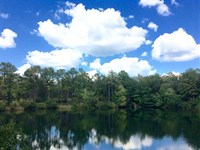Mobile Home, Pond, And Great Hunti : Cusseta : Chattahoochee County : Georgia