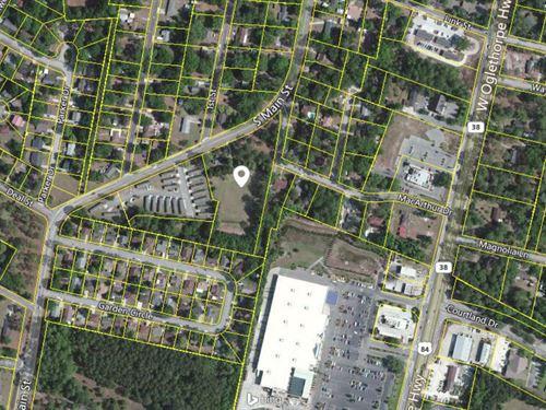 3.15+/- Acres Corner Lot Hinesville : Hinesville : Liberty County : Georgia